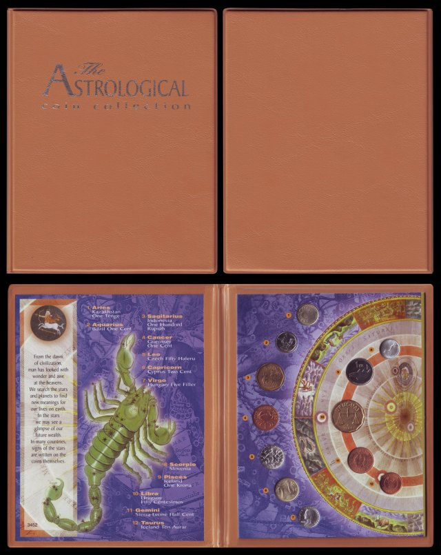 The Astrological coin collection