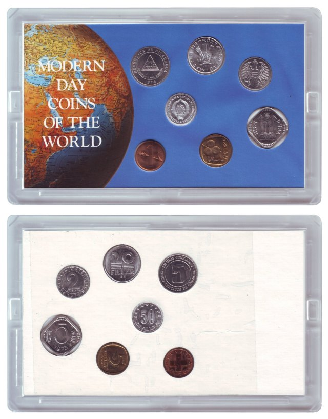 Modern day Coins of the World