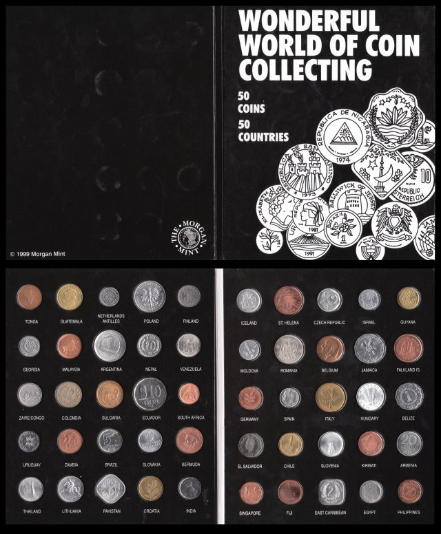 Wonderful World of Coin Collecting - 50 Coins 50 Countries