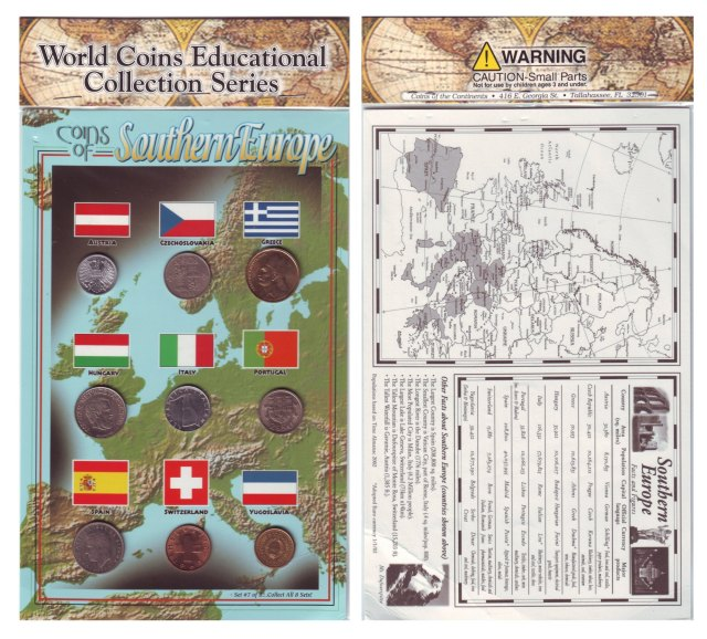 World Coins Educational Collection Series