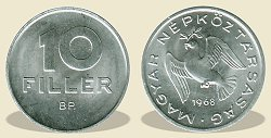 1968-as 10 fillér - (1968 10 fillér)