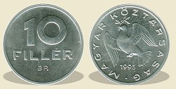 1993-as 10 fillér - (1993 10 fillér)