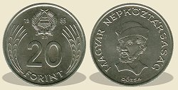 1985-�s 20 forintos - (1985 20 forint)